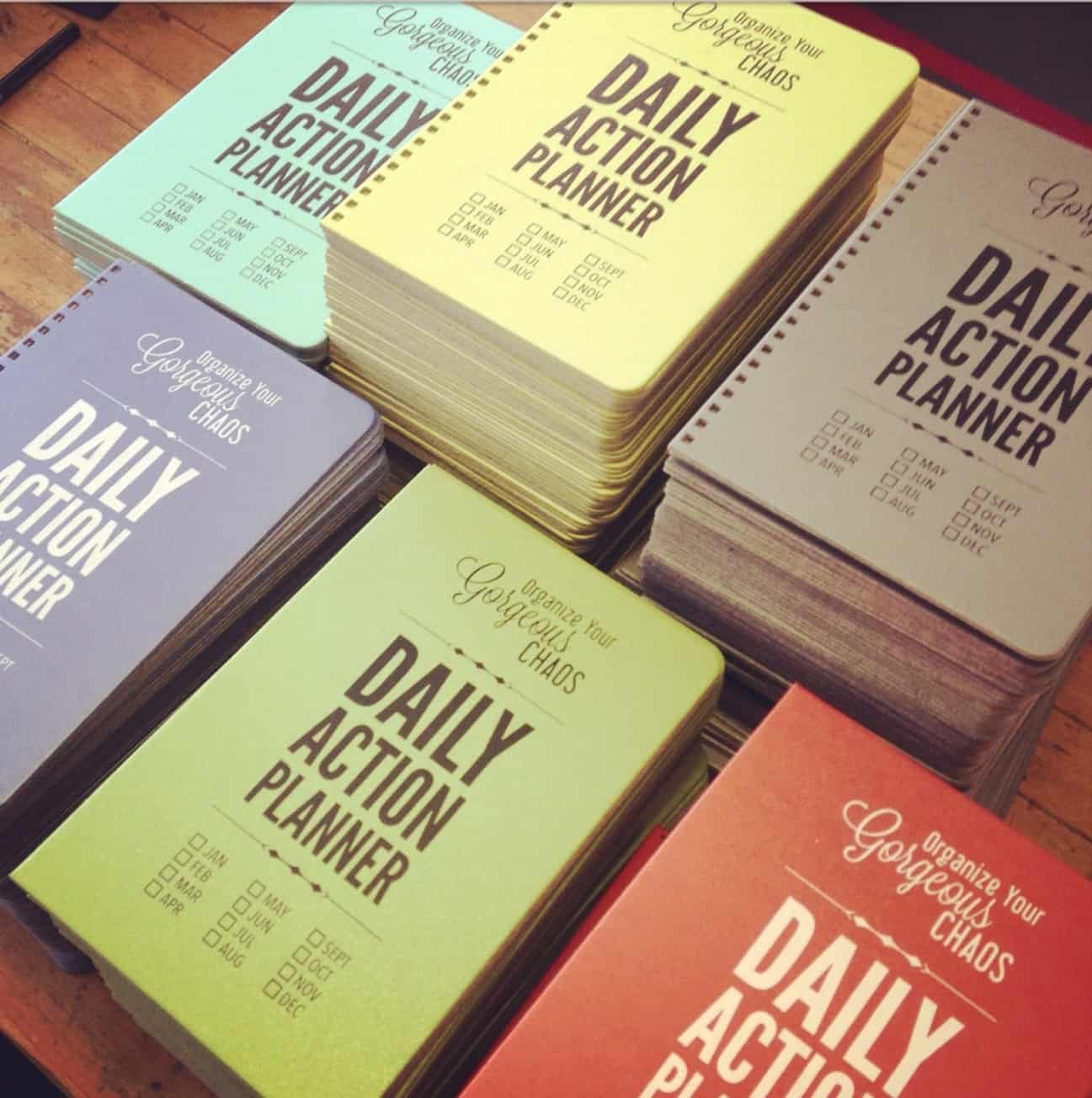 Savor Daily Action Planner