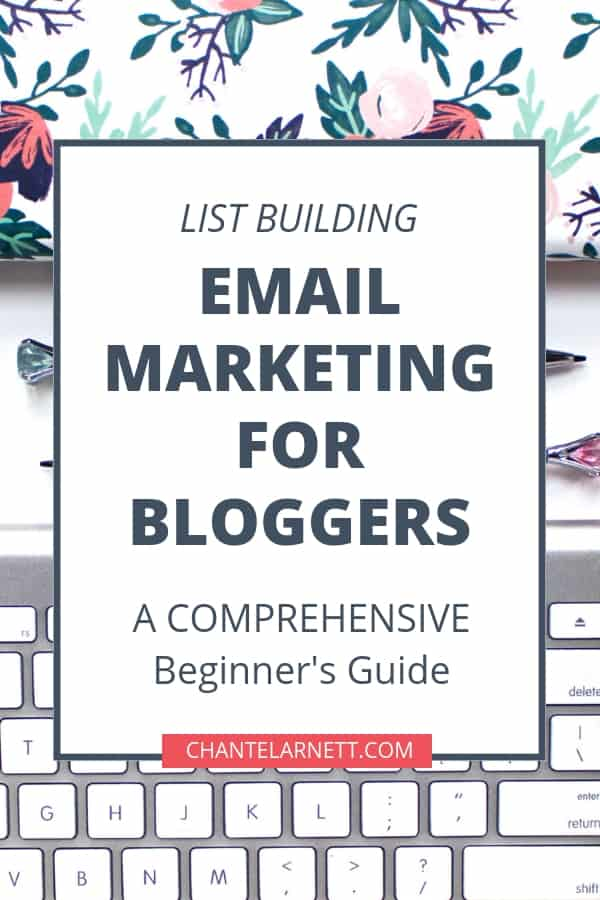 Email marketing & list building is an essential part of a profitable online business. Read this beginner's guide to email marketing for bloggers and learn how to use email to grow your blog and your income! | email list for bloggers | email list building | start an email list | #blogging #emailmarketing