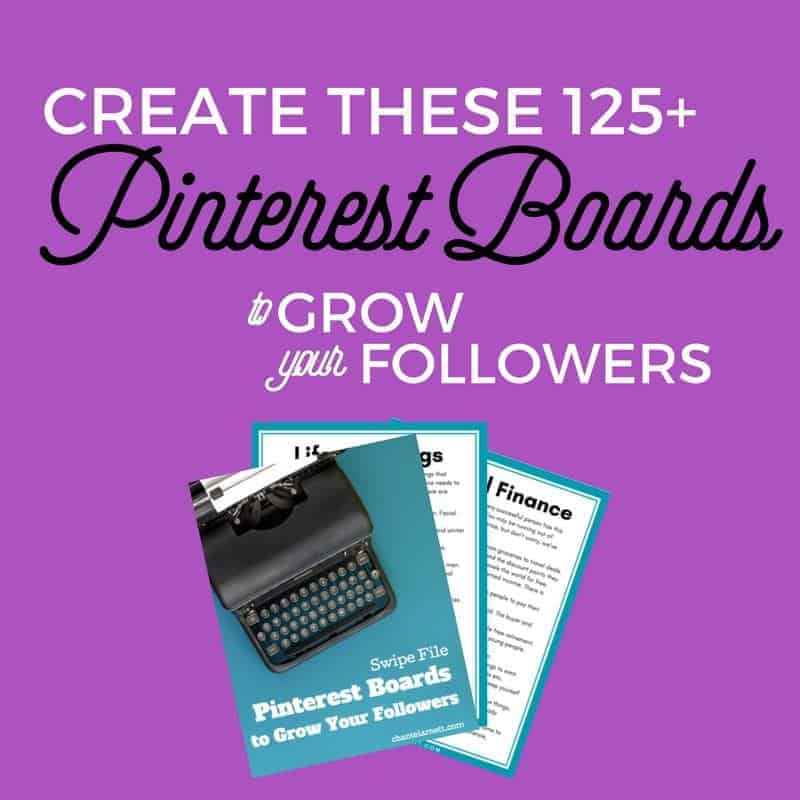Free Resource Create These Pinterest Boards