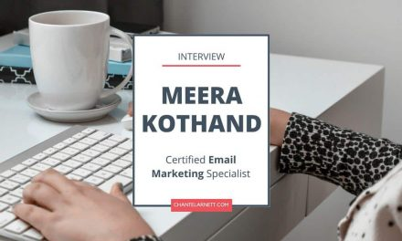 An Interview with Meera Kothand [Email Lists Simplified]
