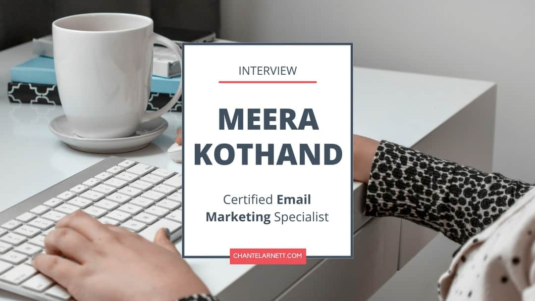 Meera Kothand Interview