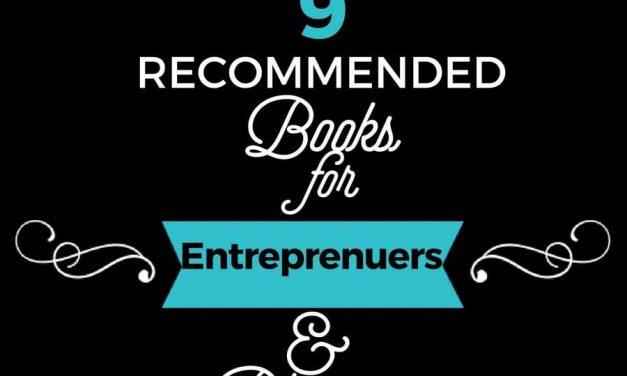 9 Recommended Books for Entrepreneurs