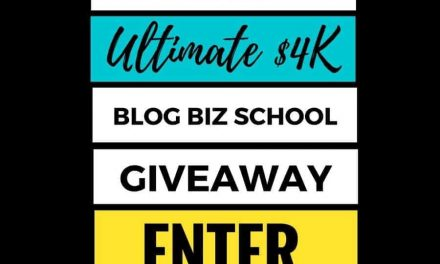 The Ultimate $4K Blog Biz School Giveaway