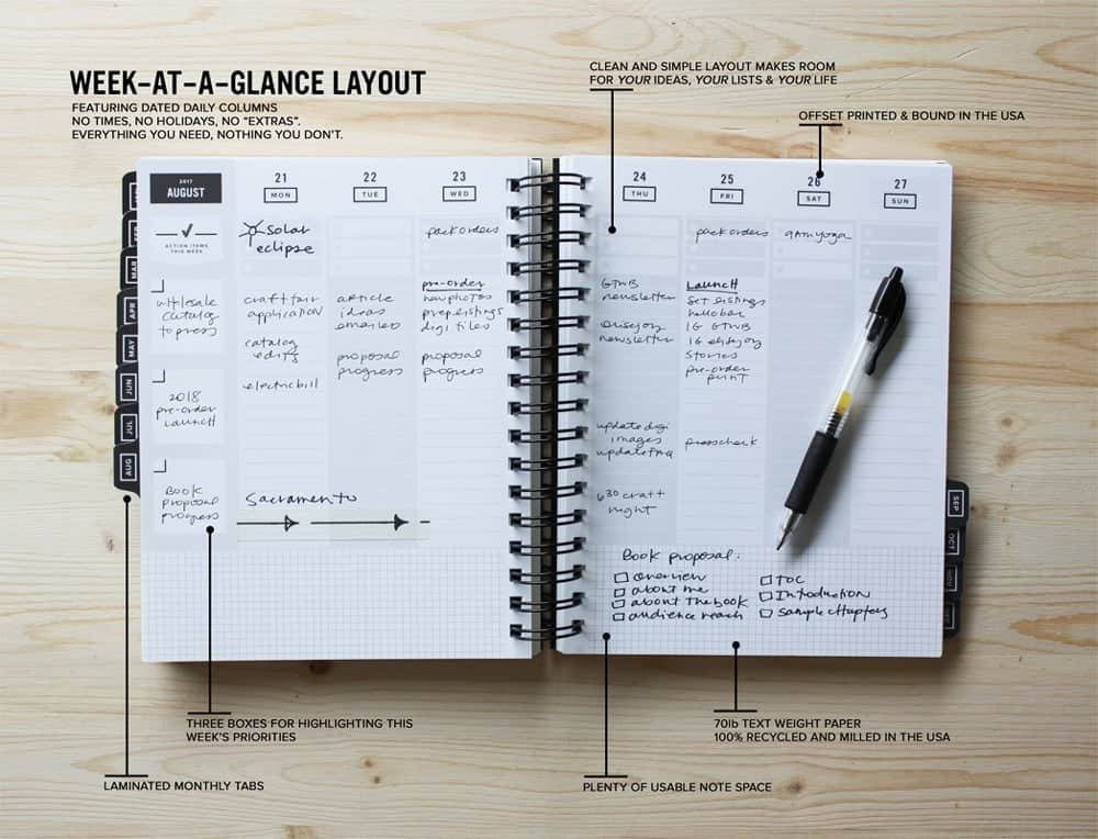 get to work book layout