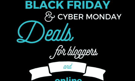 Best 2017 Black Friday Deals for Bloggers