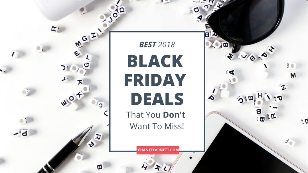 UPDATED: Best 2018 Black Friday Deals for Bloggers