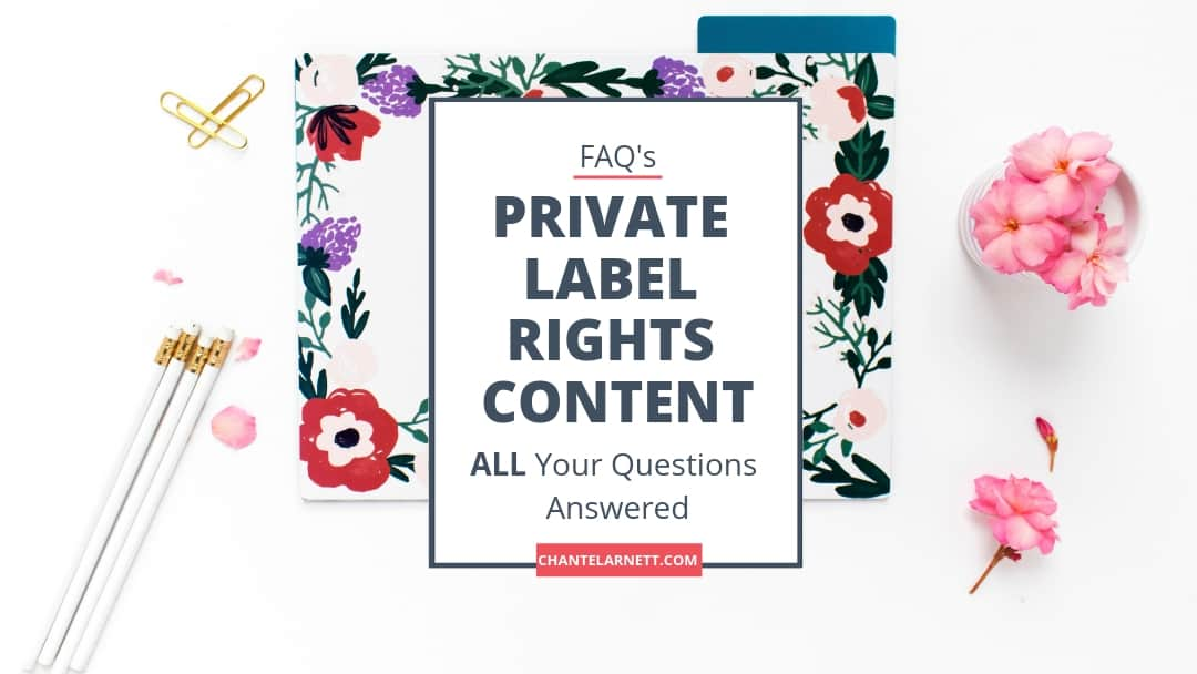 All Your Questions Answered About Private Label Rights Content