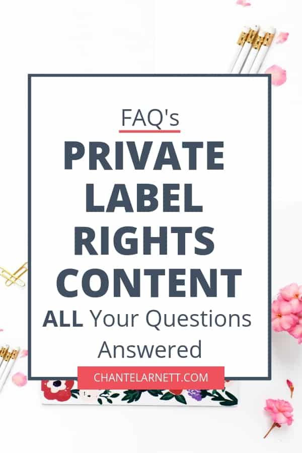 Want to learn how how to leverage private label content for your blog and business? Have questions? This FAQ will answer all your questions, even the ones who don't know to ask!