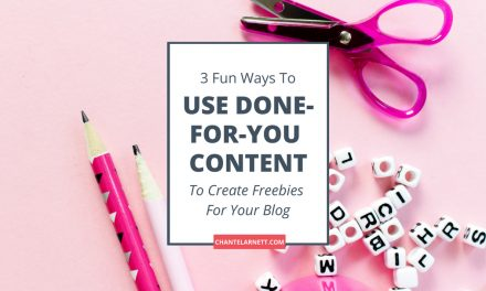 3 Fun Ways to Use Done-For-You Content