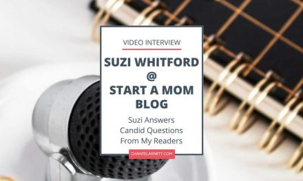 Video Interview with Suzi of Start a Mom Blog
