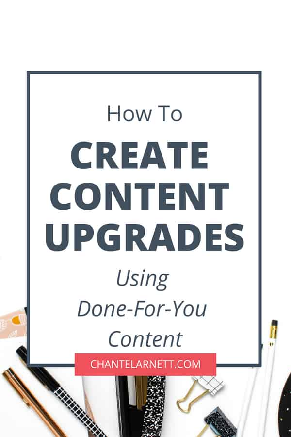 Creating content upgrades doesn't have to be complicated or time-consuming. Learn how to create content upgrades the easy way using #PLR.