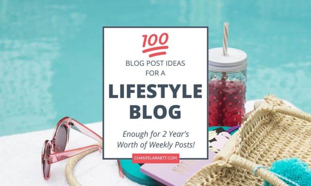 100 Lifestyle Blog Topics to Inspire and Entertain