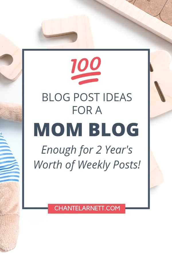 mom blog ideas