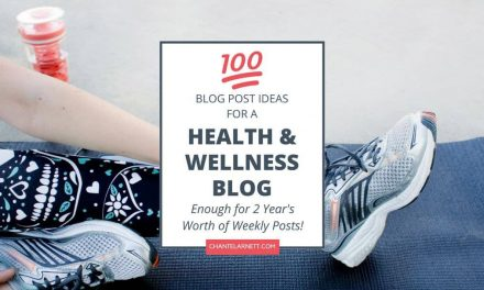 100 Health Blog Ideas