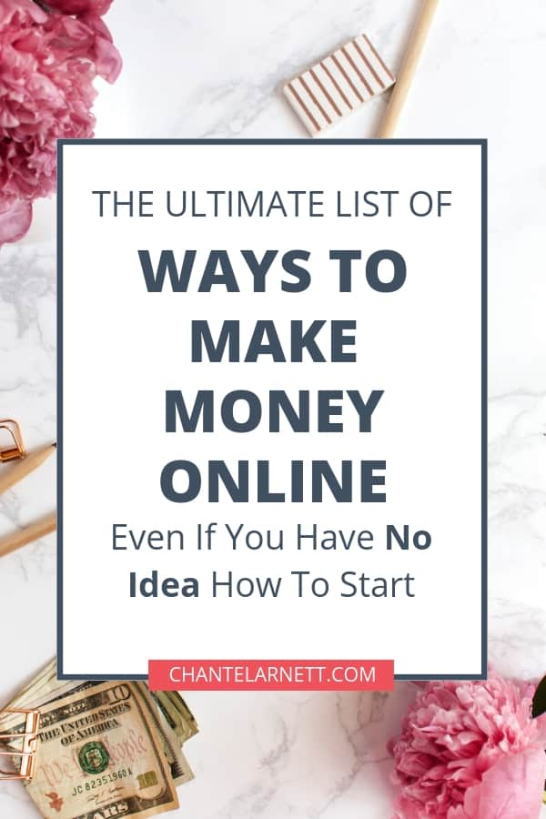 Want to make money online from home? Or maybe you just want to earn a little extra cash on the side? Work from home jobs are more common than you think. You'll find dozens of make money online and work from home job ideas in this list!