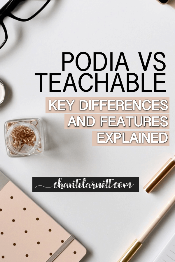 podia vs teachable - key differences and features explained