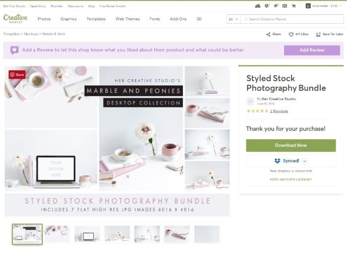 creativemarket stock photo bundle