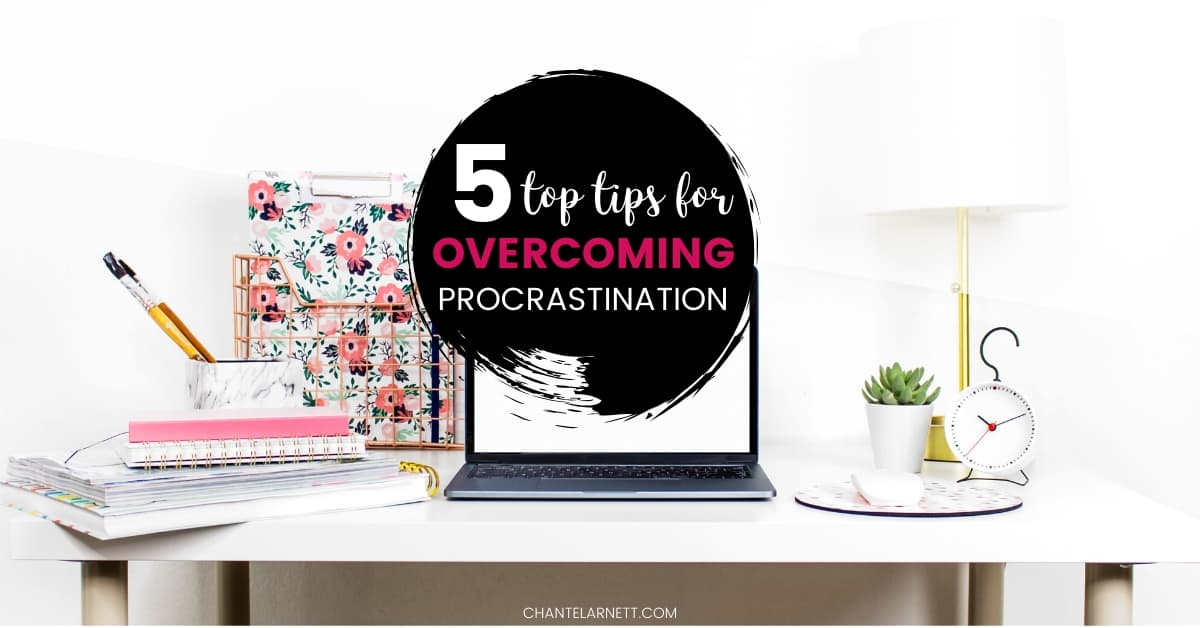 tips for overcoming procrastination