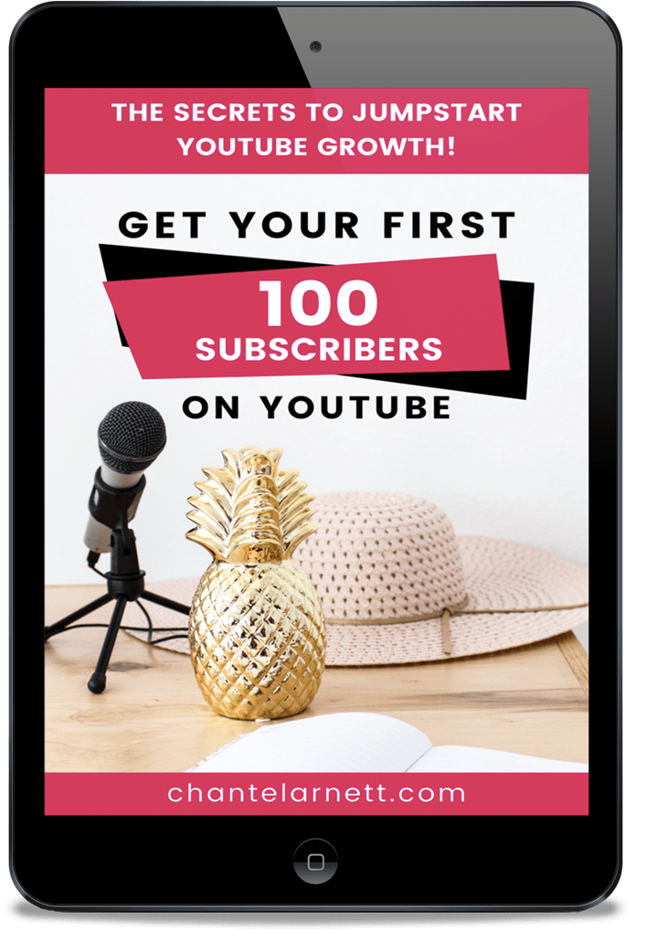get your first 100 subscribers on YouTube