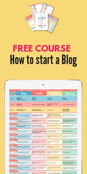 free course how to start a blog