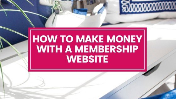 How to Make Money with a Membership Website