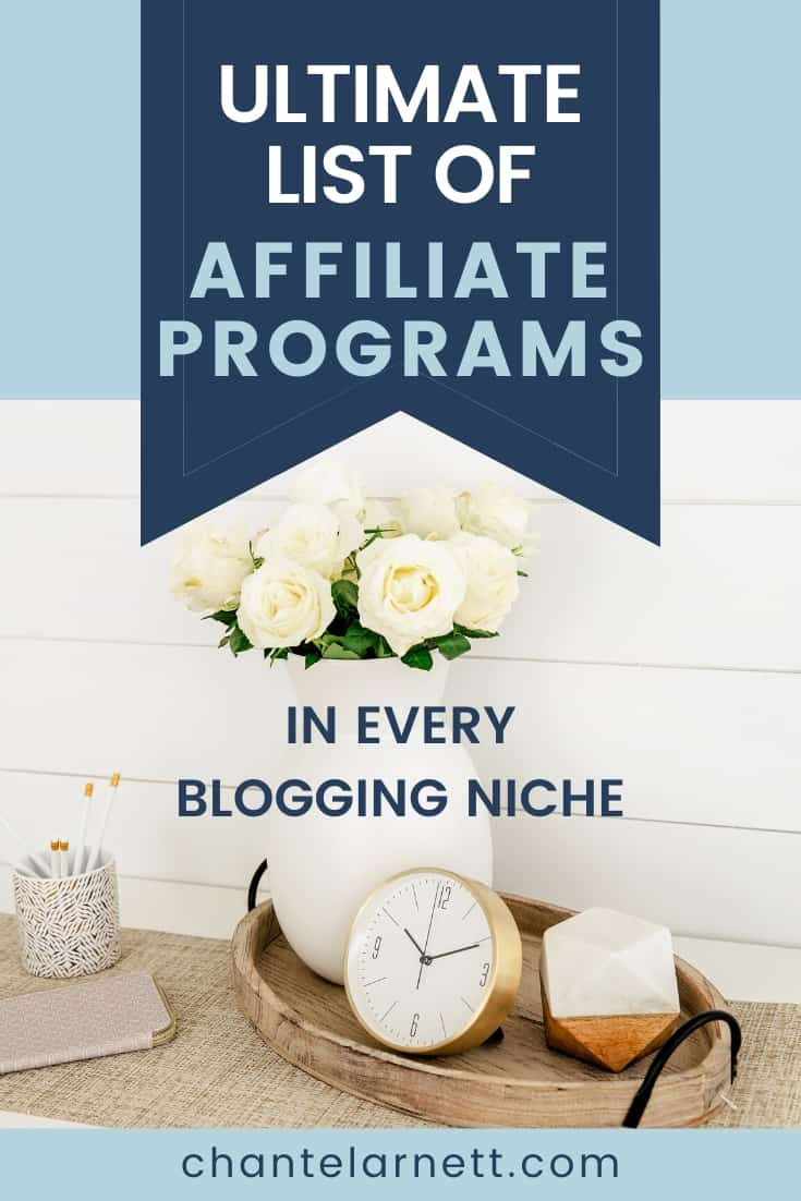 Ultimate List of Affiliate Programs
