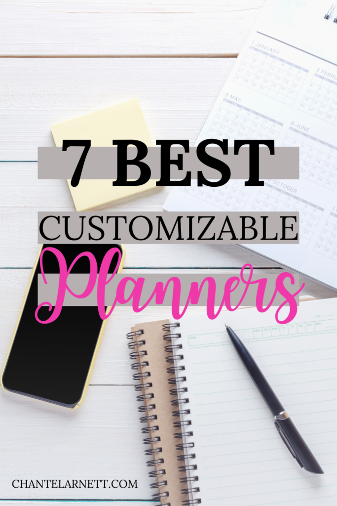 Best Customizable Planners