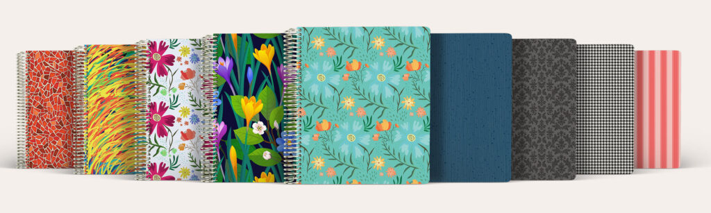 agendio customizable planner covers
